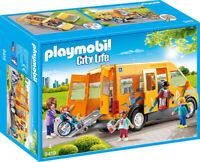 PLAYMOBIL City Life Schulbus ab 4 Jahren 11-teiliges Spielfiguren-Set