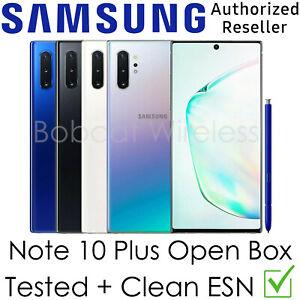 Samsung Galaxy Note 10+ Plus N975U N975U1 AT&T Sprint Verizon Factory Unlocked