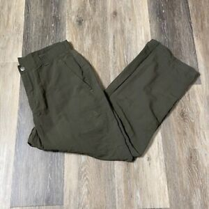 THE NORTH FACE Men's Army Green Paramount Utility Nylon Pants Size 36 Short