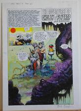 ARTHUR SUYDAM Original Art, Adv of Cholly n Flytrap #3, pg 27, 12x17, Signed