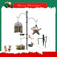 Wild Bird Feeding Station kit Bird Feeder Pole w/ bird Bath Outdoor Garden Gift