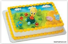 Tweety Cake Topper Decoration Party Shower Birthday Cupcake Looney Tunes  Baby