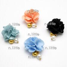 4 Pcs Fabric Magnet Jewelry 3D DIY Rhinestone Nail Art Decoration #NH-333
