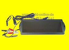 Solar Batterieladegerät Solarmodul Solarzelle Ladegerät 12 Volt 550059 - NEU