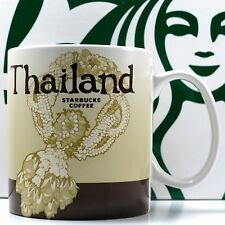 Thailand Starbucks Mug Global Series Collector Coffee Tea 16 oz New