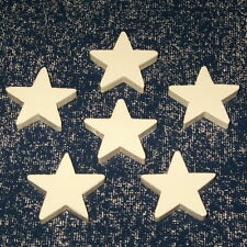 HAND PAINTED STAR PUSH PINS OFFICE NOTE TACKS BULLETIN MEMO MEMORY CORK BOARD
