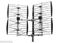 HEAVY DUTY  MULTI-DIRECTIONAL VHF UHF OUTDOOR HDTV HD TV ANTENNA 8BAY 8 BAY DTV