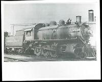 Canadian Pacific 2-8-0 Class M4A Locomotive #3400 - B&W 8x10 Railroad Photo