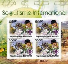 SCOUTS / International Scouting Stamp Sheet #5 of 5 (2011 Burundi)
