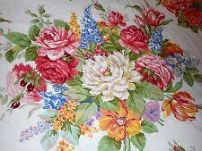 Rare Ralph Lauren Melissa Floral Twin Fitted Sheet Beach House Southampton White