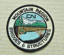CN Railroad Patch - Mountain Region Bridges & Structures