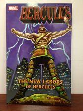 HERCULES The New Labors Trade Paperback TPB Marvel Avengers MARK TEXIERA