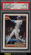 1991 Topps Desert Shield Ken Griffey Jr. #790 PSA 8 NM-MT (PWCC)
