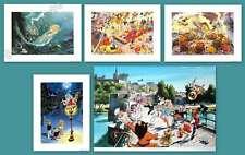 DANY Lot 5 affiches Olivier Rameau 30x40 cm 50x70 cm