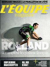 L'EQUIPE MAGAZINE N°1668 5 JUILLET 2014  PIERRE ROLLAND/ HINAULT/ NBA DRAFT