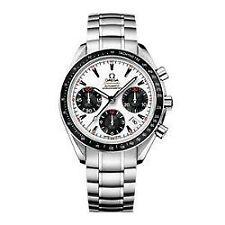 Runde OMEGA Armbanduhren mit Chronograph für Herren