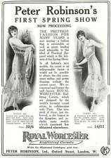 WW1 Kidfitting Corsets Peter Robinson Oxford Street Ad