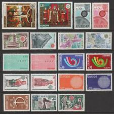 More details for andorra (fr) 1966, 67, 70, 71, 73, 74, 75, 76, 77, 78. europa mnh. cat app £273