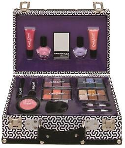 Chit Chat Cosmetics Case Girls Teenage Make Up Beauty Gift Set Nails Lips Eyes