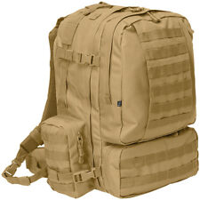 BRANDIT US COOPER 3-DAY ASSAULT BACKPACK MILITARY HYDRATION MOLLE PACK CAMEL
