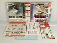GETBASS 2 Get Sega Bass Fishing NTSC-JAPAN Sega Dreamcast +obi+reg