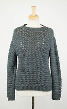 NWT BRUNELLO CUCINELLI Green Cashmere Blend w/ Sequins Knit Sweater Sz XL $3025