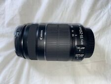 Canon EF-S 55-250mm f/4.0-5.6 IS II Telephoto Zoom Lens Black