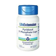 Life Extension Pyridoxal 5'-Phosphate 60 100 Mg Capsules