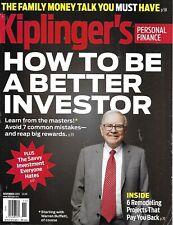 Kiplinger's Magazine Warren Buffett Better Investing Personal Finance Remodel