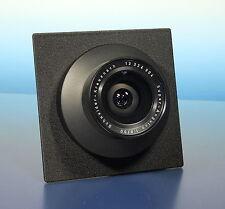 Schneider-Kreuznach Super-Angulon 8/90mm Objektiv lens auf Sinarplatine - 92769