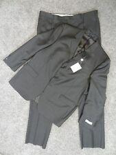 New CONCEPTS CLAIBORNE Mens 48R JACKET 43R PANTS Brown PinStripe SUIT $375 MSRP