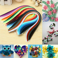 3mm Width 600 Strips Paper Quilling Mixed 30 Colors 39cm Length Papercraft