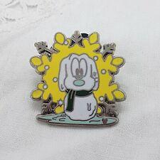DISNEY Trading Pins Pluto as Snowman Dog Hidden Mickey Snowflake 2007 4 of 6