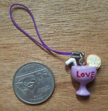 New Cell Phone Charm Strap - purple drink