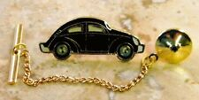 VolksWagon VW Beetle Tie Tack Pin & Chain Clasp