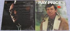 Ray Price [Lot of 2 LPs]: I Fall To Pieces / Greatest Hits