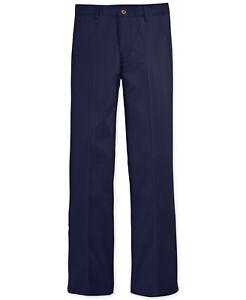 Nautica School Uniform Pants - Elo Navy Blue - Husky Boys Sz 12H