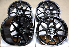 "18"" ALLOY WHEELS CRUIZE CR1 GB 5X110 FULL GLOSS BLACK CONCAVE 18 INCH ALLOYS"