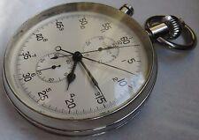 Breitling Split Seconds Chronograph Rattrapante Pocket watch cal. Valjoux 9