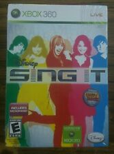 DISNEY SING IT BUNDLE WITH MICROPHONE. XBOX 360. BRAND NEW. SEALED