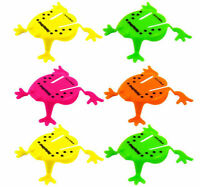 12 Jumping Frogs - Pinata Toy Loot/Party Bag Fillers Childrens/Kids