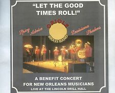 CD ORLIOLE BRASS BAND let the good times roll EX 2006 UK