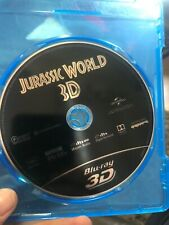 jurrassic world 3d bluray never used just disc