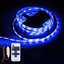 Wireless Waterproof LED Strip Light 16ft For Boat / Truck / Car/ Suv / Rv Blue