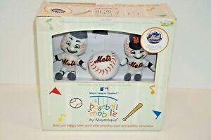 Baby Crib Mobile MLB Baseball New York Mets Kids Toy 2006 Mascotopia