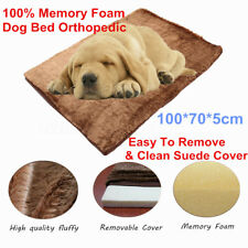 Extra Large PAW Memory Foam Dog Bed MAT With Removable Cover 39*28*2 Inches USA