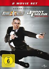 2 DVDs * JOHNNY ENGLISH 1 & 2 # NEU OVP +