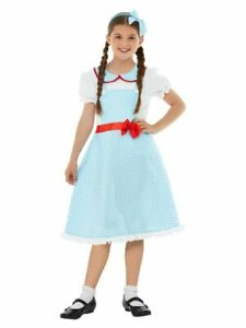 The Wizard Of Oz Dorothy Country Girl Child Costume Smiffys