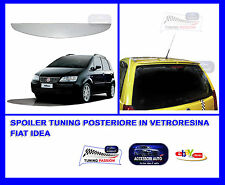 Alettone Spoiler Tuning  Posteriore Fiat Idea - Tuning - Accessori Auto