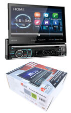 "7"" Flip Out Bluetooth Radio CD/DVD MP3 USB Single Din Touch Screen PD-721B"
